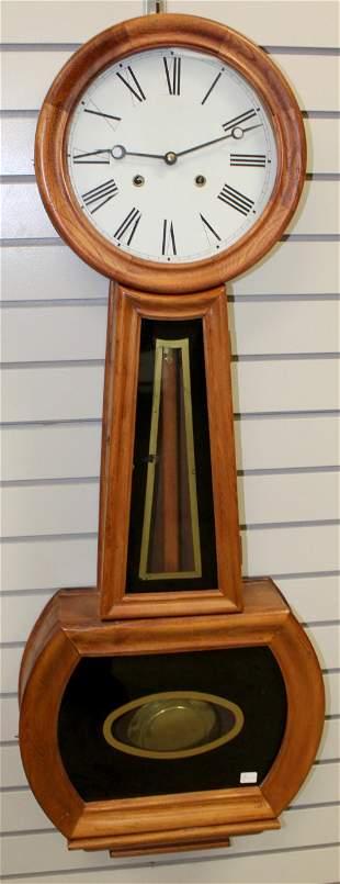 Reproduction Howard Style Banjo Wall Clock