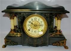 Seth Thomas Adamantine 4 Column Mantle Clock