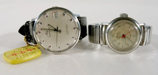 7: 2 Mido Wrist Watches-Multifort Grand Luxe & Other