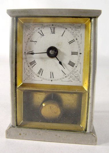 9: 3 Novelty Clocks Waterbury, Westclox & Pendulette - 2