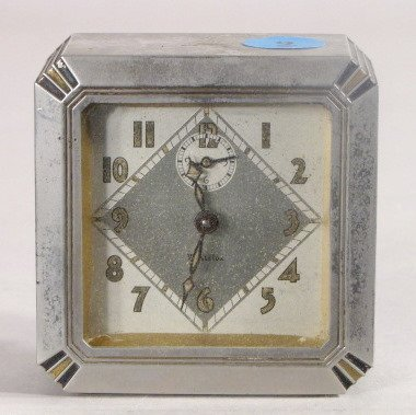 9: 3 Novelty Clocks Waterbury, Westclox & Pendulette - 4