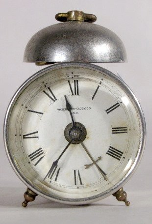 9: 3 Novelty Clocks Waterbury, Westclox & Pendulette - 7