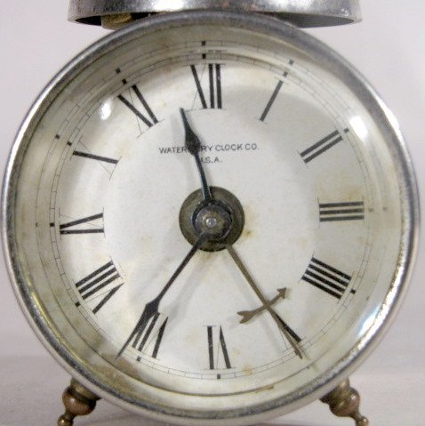 9: 3 Novelty Clocks Waterbury, Westclox & Pendulette - 8