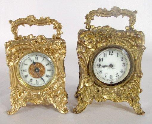 "16: 2 Novelty Clocks, Seth Thomas ""Bona"" & Other"