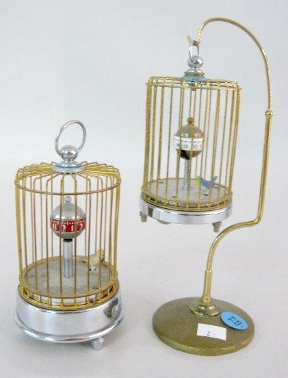 22: 2 Birdcage Clocks, Japan & Occupied Japan
