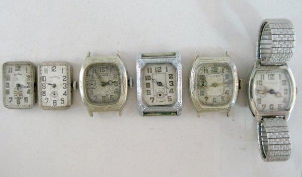 24: 6 Illinois Wrist Watch Parts