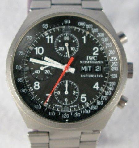 82: I.W.C. Schaffhausen Auto. Chronograph Wrist Watch