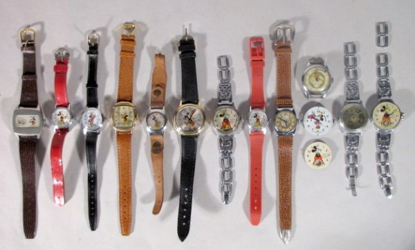 15: 14 Character Wrist Watches, Babe Ruth +