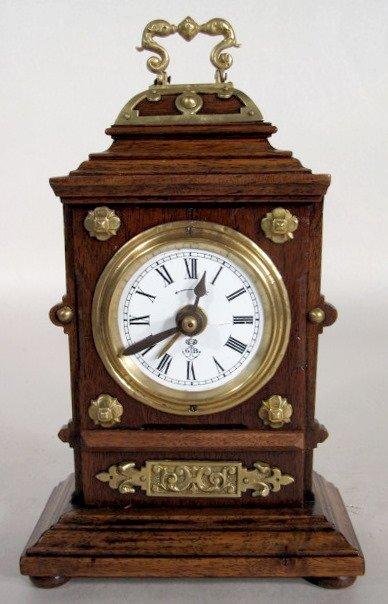 1: Lenzkirch/Gustav Becker Alarm Clock
