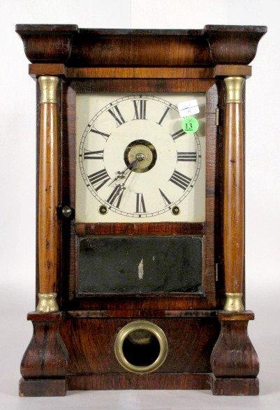 13: Seth Thomas Column Mantel Clock