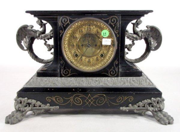 15: Ansonia Belgium Mantel Clock