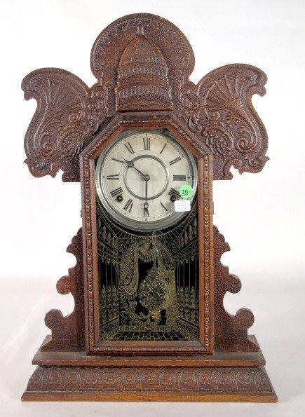 20: Ingraham St. Louis Worlds Fair Clock, Oak