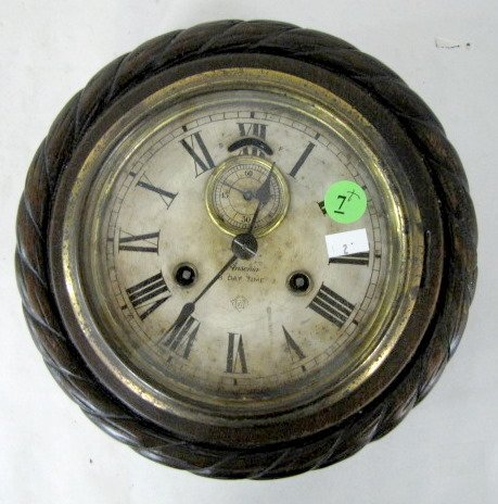 7: Ansonia Cable Hanging Clock