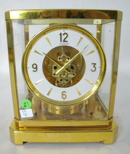 2: Le Coultre Atmos No.47261 Clock