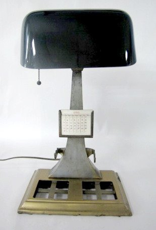 4: Emeralite Desk Lamp With Calendar Pad
