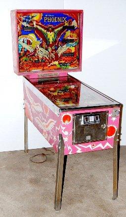"291: Williams Electronics ""Phoenix"" Pinball Game"