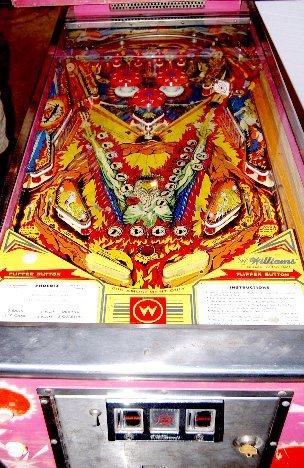 "291: Williams Electronics ""Phoenix"" Pinball Game - 2"