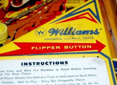 "291: Williams Electronics ""Phoenix"" Pinball Game - 9"
