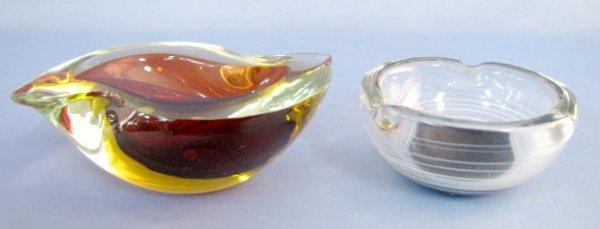 4: Murano Style Ash Receiver & Dish