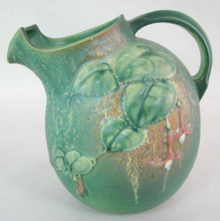 15A: Roseville Fuchsia 1322 Art Pottery Pitcher