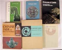 120B Group of 6 Oriental Jade Reference Books