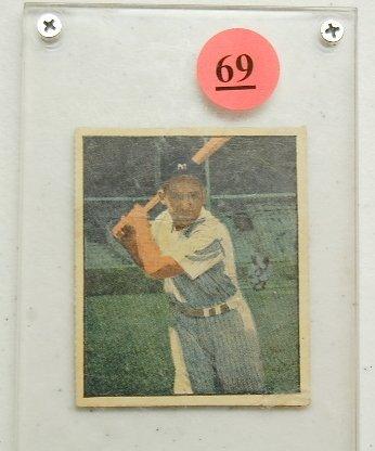 69: 1951 Yogi Berra Champions Sports Card