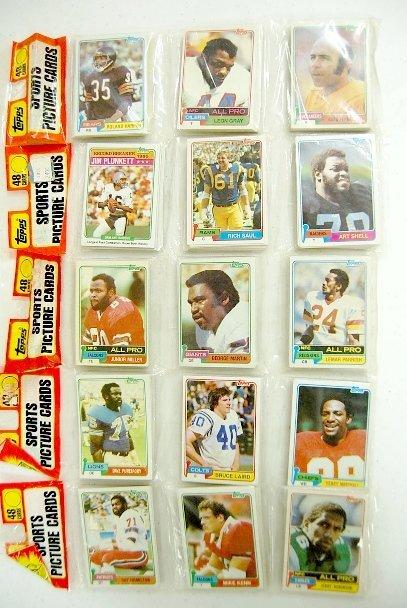 252: 5- 1981 Topps Rack Paks Football, Montana Rookie