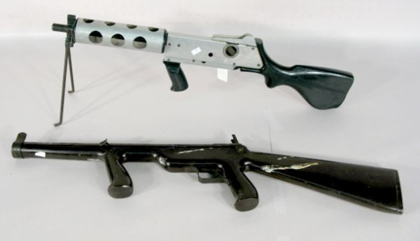 13: Johnson Indoor Target & Buddy L Toy Guns