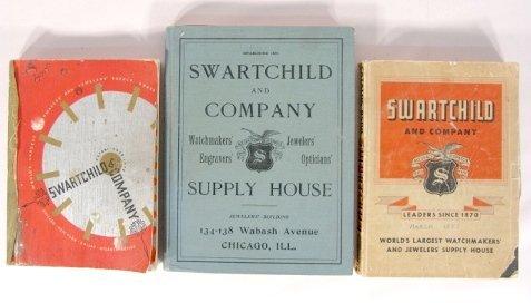20: 3 Swartchild Co. Watchmakers & Jeweler's Catalogs