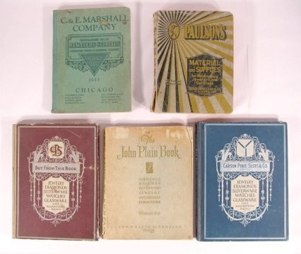 23: 5 Early Jeweler's & Watchmakers Catalogs, Chicago