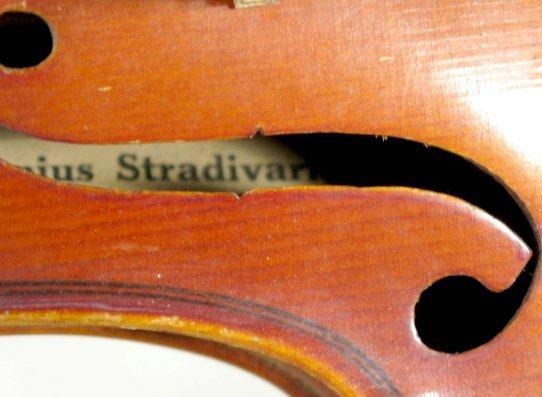 171: Copy of Antonius Stradivarius Violin in Case - 2