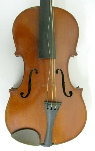 326A: Imperial (Nippon) Violin w/Bow in Case - 4