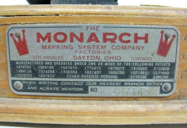 399: Monarch & Jr Monarch Marking System - 6