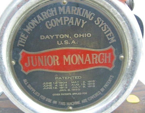 399: Monarch & Jr Monarch Marking System - 8
