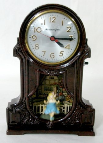 3: Mastercrafters Electric Swinging Doll Clock
