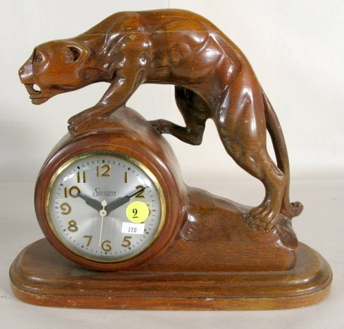 9: Mastercrafters Sessions Panther Clock