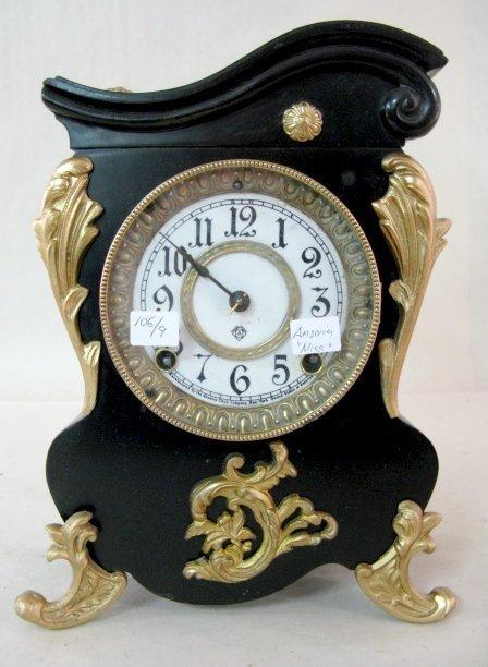 "22: Ansonia ""Orleans"" Cabinet Clock"