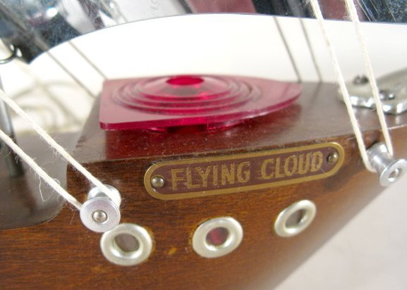 """25: Mastercrafters """"Flying Cloud"""" Ship Clock - 3"""