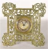 58: British United Clock Co. Desk Clock