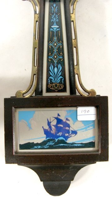 79: 2 New Haven Willis Miniature Banjo Clocks - 3