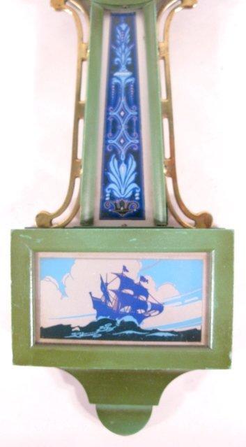 79: 2 New Haven Willis Miniature Banjo Clocks - 6