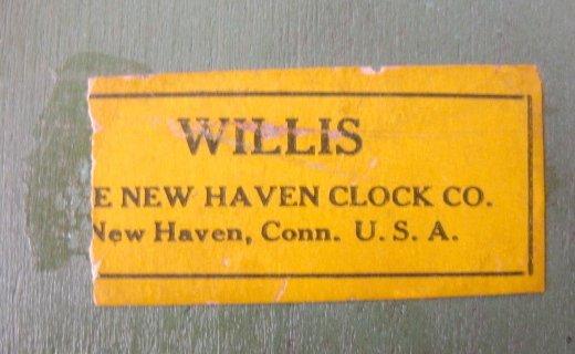79: 2 New Haven Willis Miniature Banjo Clocks - 7