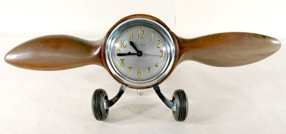 105: Mastercrafters Sessions Airplane Propeller Clock