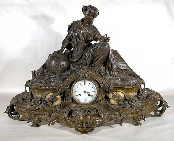 161: French Industry Clock, L. Japy-Paris