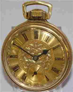 Hamilton 992 21J 16S OF Pocket Watch
