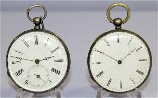 2 42mm KW/KS Pocket Watches