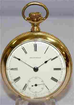 Edgemere 17J 18S OF Pocket Watch