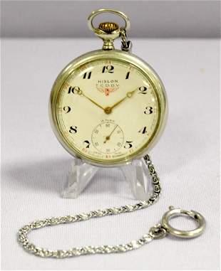Hilson T C DDY 15 Ruby Jewels Pocket Watch