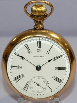 Waltham 15J 18S OF Pocket Watch