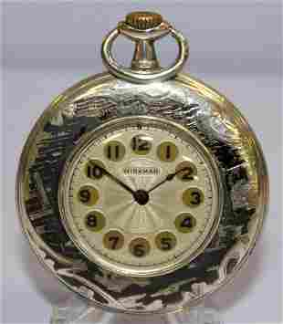 .800 Miramar Niello 38mm Pocket Watch